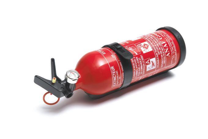Вогнегасник 1 кг із манометром