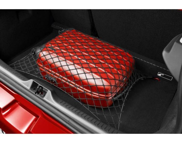 Горизонтальна сітка у багажник