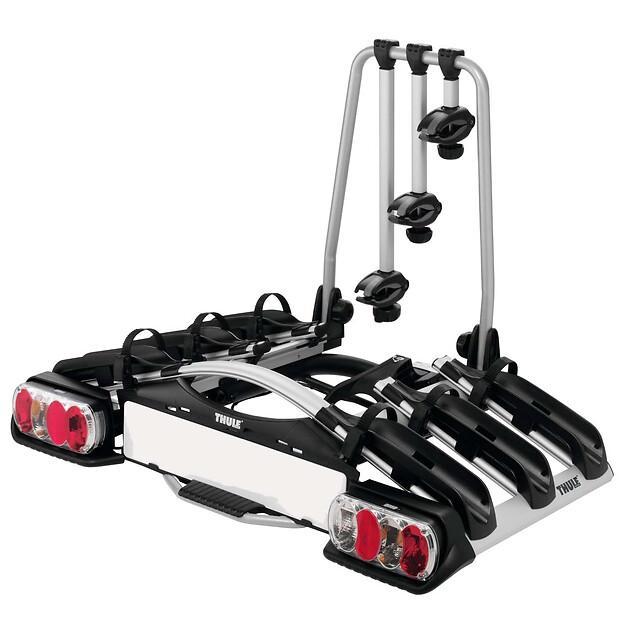 Тримач велосипедів Euroride - Кріплення на фаркоп - 3 велосипеди - 7-pin