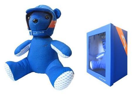 Ведмедик синій