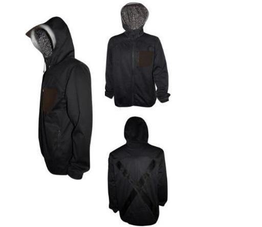 Куртка чорна S
