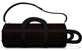 Речовий мішок чорний 33х65