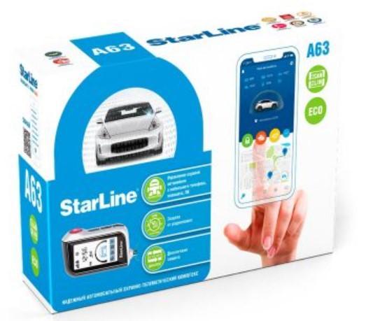 Автосигналізація StarLine A63 2CAN+2LIN ECO