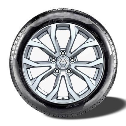 17-дюймові колісні диски Tiraka – Сріблясто-сірі