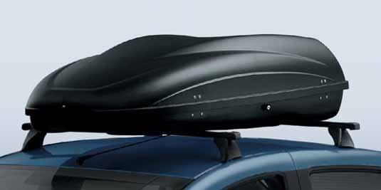 Бокс на дах — 440 л — 1600 x 920 x 400 мм — Чорний