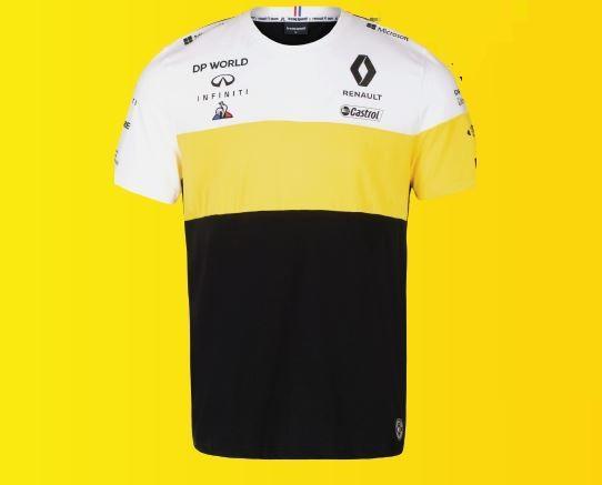 Чоловіча чорна бавовняна футболка F1 M