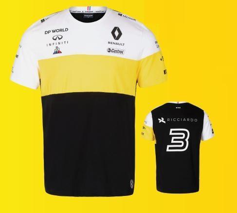 """Чоловіча бавовняна футболка """"Ricciardo"""" L"""