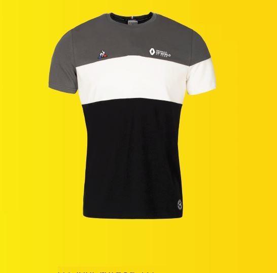 Чоловіча сіра технічна футболка F1 L