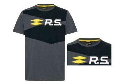 R.S. чоловіча футболка Темно-строкатий сірий L