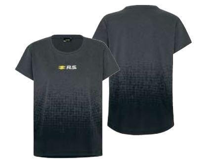 R.S. жіноча футболка Темно-строкатий сірий L