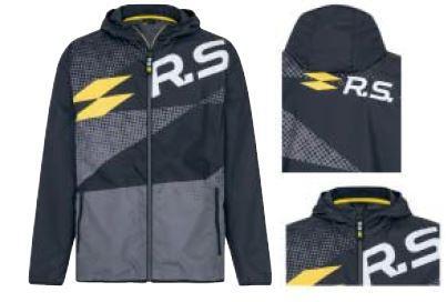R.S. Вітровка Чорний та сірий XL