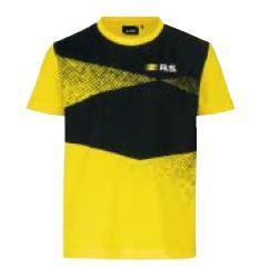 R.S.футболка для хлопчика Жовто-чорна 4 роки