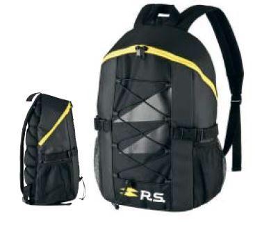 R.S. рюкзак Чорний 45 х 29 х 18 см