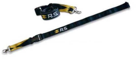 R.S. Стрічка для бкйджу/ключів Чорний 105 х 25мм