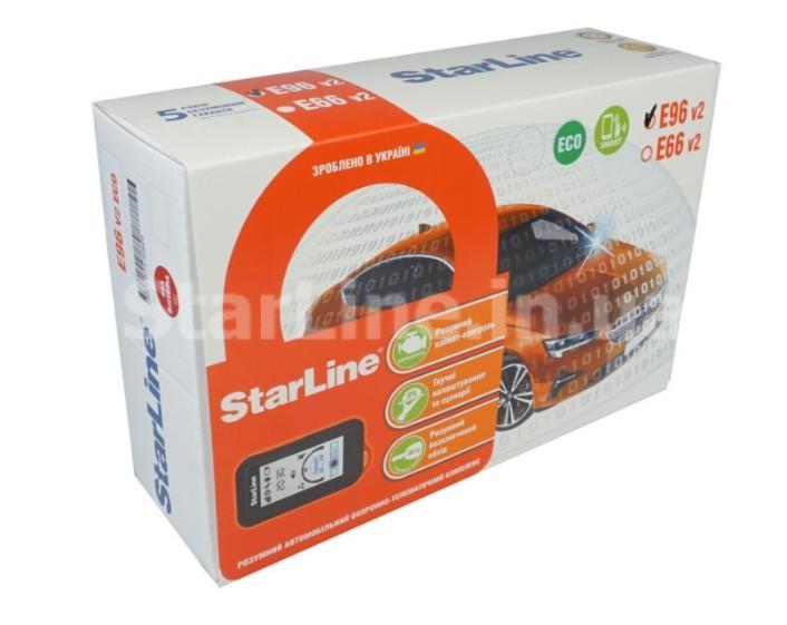 Автосигналізація StarLine Е96 ВТ ECO
