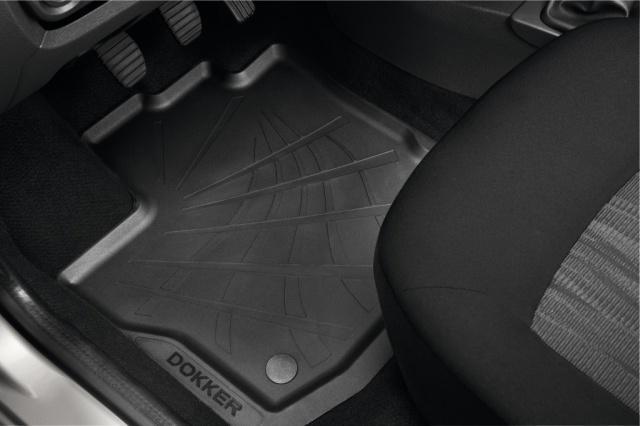 Комплект гумових килимків