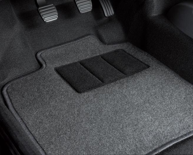 Комплект текстильних килимків Monitor