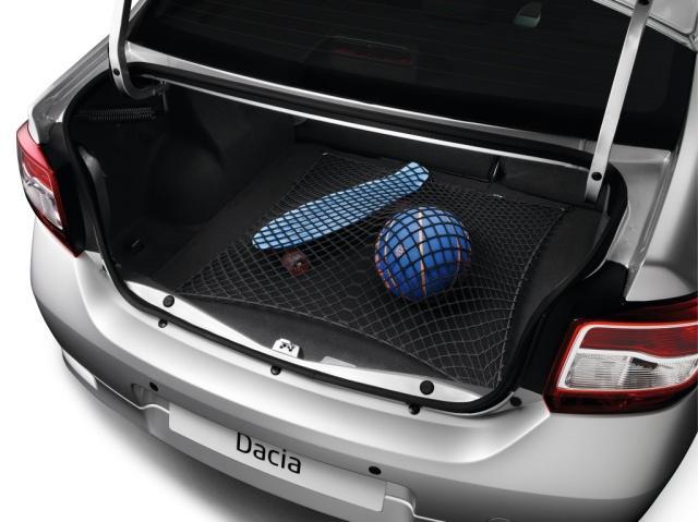 Горизонтальна сітка в багажник