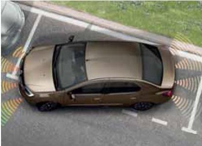 Передній паркувальний радар