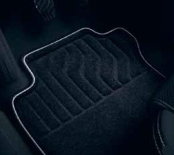 Комплект текстильних килимків Premium