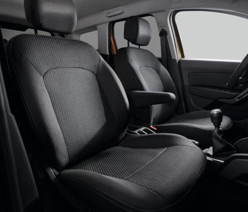 Чохли передніх і задніх сидінь із підголівниками — Сидіння диванного типу 1/1