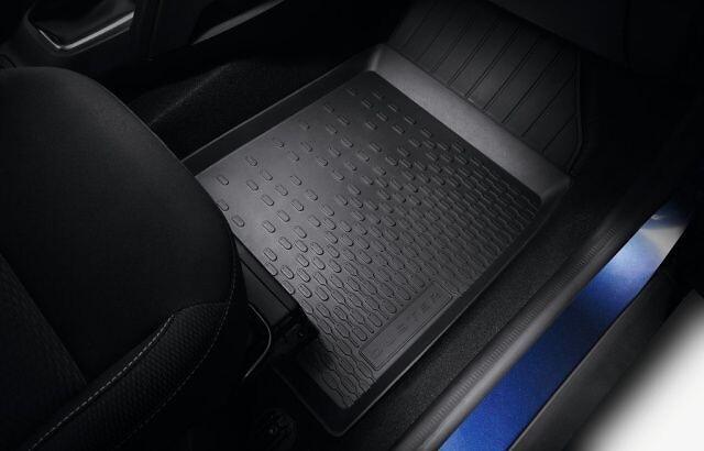 Гумові килимки - З відділенням під сидінням
