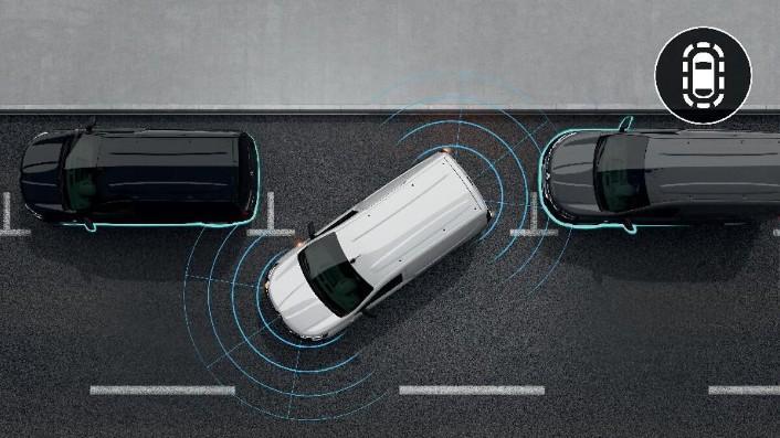 Датчики контролю дистанції паркування—Задні